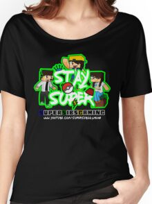 Stay Super! - SuperSibsGaming Women's Relaxed Fit T-Shirt
