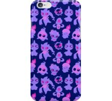 Ghost Pokemon Pattern iPhone Case/Skin