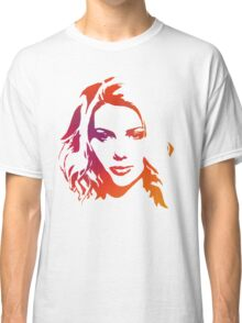 Cutout Series: 01 Scarlett Johansson Classic T-Shirt