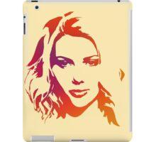 Cutout Series: 01 Scarlett Johansson iPad Case/Skin