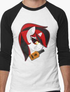 Blackjack Version 2 Men's Baseball ¾ T-Shirt
