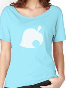 Animal Crossing Leaf Women's Relaxed Fit T-Shirt