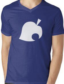 Animal Crossing Leaf Mens V-Neck T-Shirt