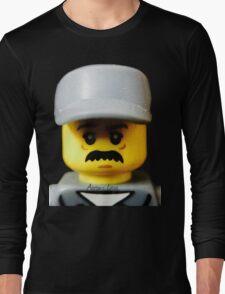 Lego Janitor minifigure Long Sleeve T-Shirt