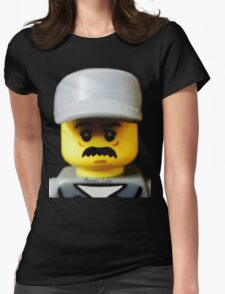 Lego Janitor minifigure Womens Fitted T-Shirt
