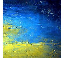 Abstract Yellow and Blue Diptych SIRIUS Holly Anderson Artist Photographic Print