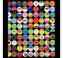 Reggae/Ska Records Photographic Print