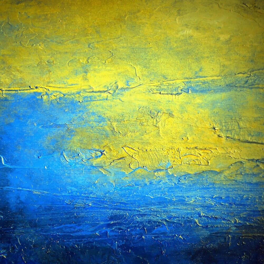Contemporary Abstract Acrylic Diptych art set SIRIUS 2  by hollyanderson