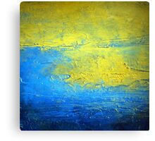 Contemporary Abstract Acrylic Diptych art set SIRIUS 2  Canvas Print