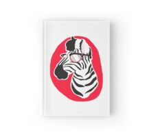 Red Stripes Hardcover Journal