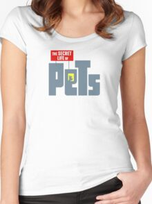 The secret life of pets Women's Fitted Scoop T-Shirt