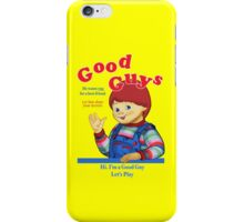 Good Guys iPhone Case/Skin