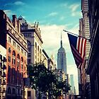 New York City, Spring Morning by crashbangwallop