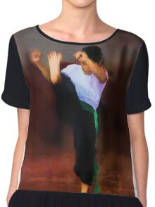 The young fighter Chiffon Top