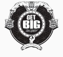 Get Big On 'Em!!! - WHITE Kids Clothes