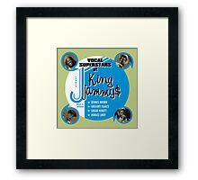 Vocal Superstars Framed Print