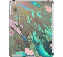Carribean psychedelic marble ink iPad Case/Skin