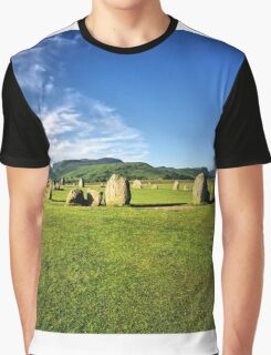 Castlerigg Stone Circle Graphic T-Shirt