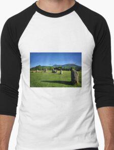 Castlerigg Stone Circle Men's Baseball ¾ T-Shirt