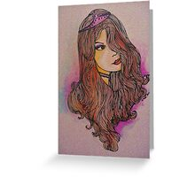 Oh where's my prince? Greeting Card