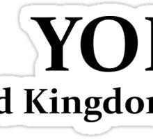 United Kingdom BREXIT : Yolo Sticker
