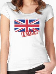 UK FREE Women's Fitted Scoop T-Shirt