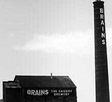 Brains Brewery, Cardiff, Wales by Jimardee