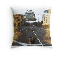 BTTF Back to the Drawing Board Throw Pillow