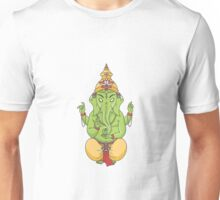 Ganesha (Green) Unisex T-Shirt