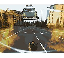 BTTF Back to the Drawing Board Photographic Print
