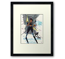 Bring it Comic Book Cover edition Framed Print