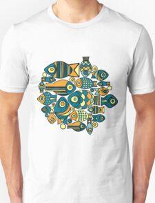 Colorful cute fish Unisex T-Shirt