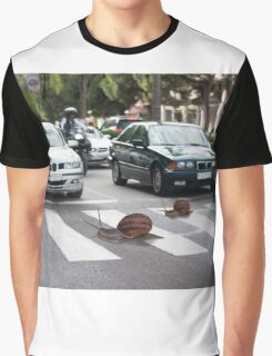 Always use the zebra crossing Graphic T-Shirt