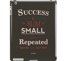 Success Quote iPad Case/Skin