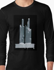 0101 - Brush and Ink - Two and Two and Two and More Long Sleeve T-Shirt