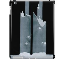 0101 - Brush and Ink - Two and Two and Two and More iPad Case/Skin