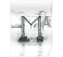Broken Bridge = M Poster