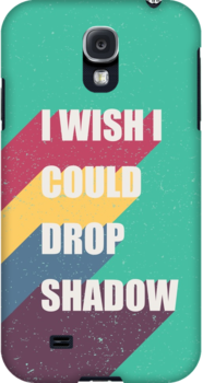 I wish I could drop shadow by wordquirk