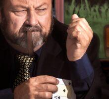 The poker cheat Sticker