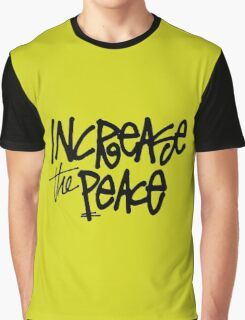 stussy increase the peace Graphic T-Shirt
