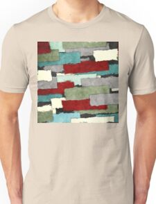 Colorful Patches Abstract T-Shirt