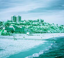 Infra-Red Beach  by Marsstation