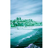 Infra-Red Beach  Photographic Print
