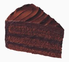 Chocolate Cake by trendystickers