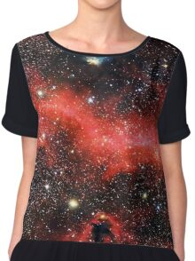 Pink Galaxy 2.0 Chiffon Top