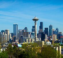 Seattle Skyline by RandyHume