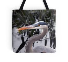 Great blue Heron - Portrait Tote Bag