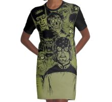 Alien meeting Graphic T-Shirt Dress