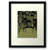 Alien meeting Framed Print