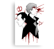 BBC Sherlock - The Reichenbach Fall Canvas Print